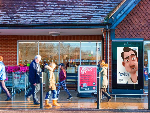 Sainsbury's Live Screen in Surrey